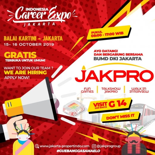 Jakpro Group Career Expo 521